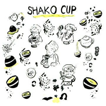 Shako Cup illustration by Cindy Mochizuki