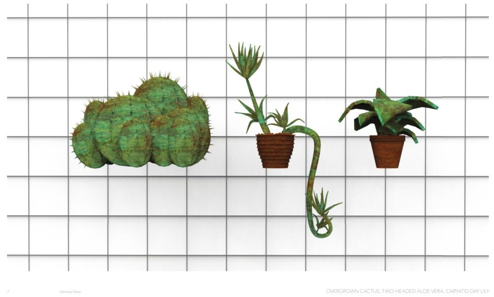 Very early concept drawings for Houseplanters. credit: Charlotte Falk